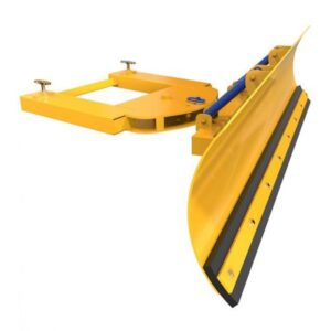 Forklift Snow Ploughs & Salt Spreaders