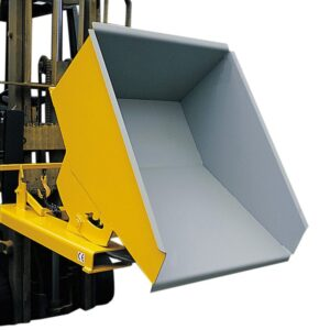 Forklift Tipping Skips & Tipping Bins